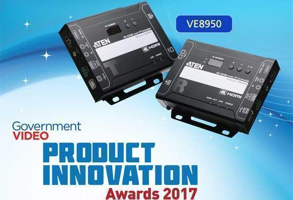4K HDMI over IP Extender VE8950 получил Product Innovation Award 2017