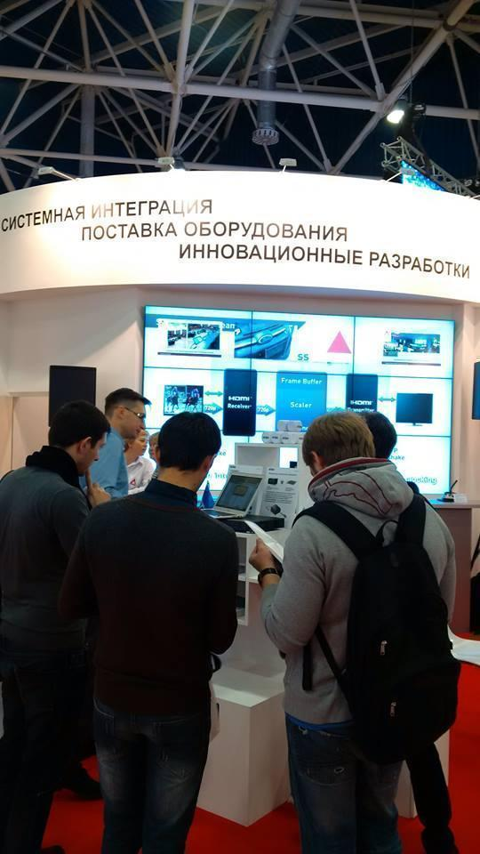 ATEN на выставке Integrated Systems Russia 2014