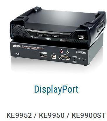 Новинки июля: 4K DisplayPort KVM over IP Extender KE9952 / KE9950