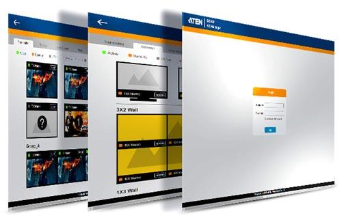 Матричная система KVM over IP Matrix System (многоточка-многоточка) на базе KE6910 / KE6912 в сочетании с программным обеспечением KE Matrix Management (CCKM), предоставляет гибкие решения в различных рабочих средах