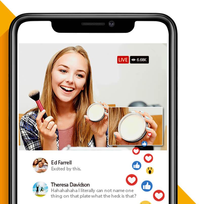 UC9020 – Go Live - Живая трансляция на любую популярную платформу из любого месте