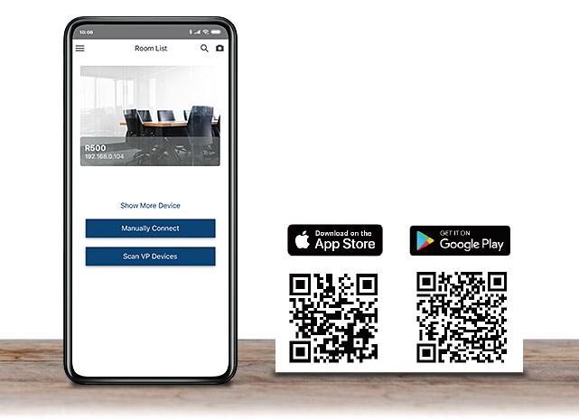 VP2120 – Мобильное приложение для подключения к сотрудничеству