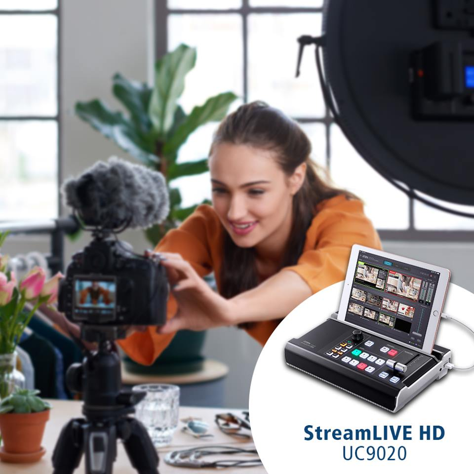 AV Микшер ATEN UC9020 StreamLIVE HD