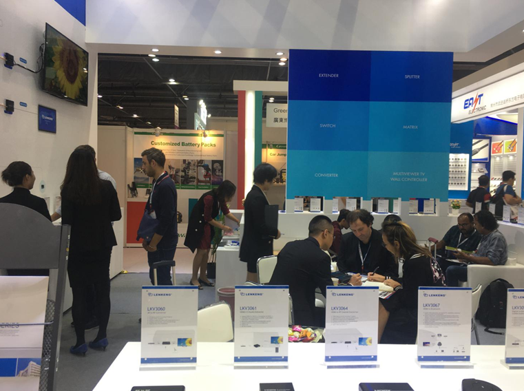 Lenkeng на 2019 Global Sources Consumer Electronics Hong Kong