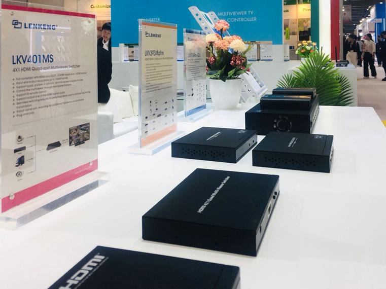 Lenkeng на 2019 Global Sources Consumer Electronics Hong Kong – новое поколение устройств для цифровой передачи видео сверхвысокой четкости