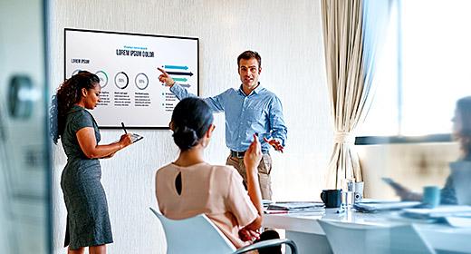 ATEN Collaborative Spaces True 4K Classic Meeting Room