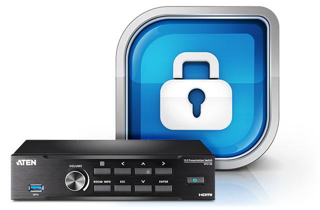 VP2120 – Защита с помощью безопасных подключений
